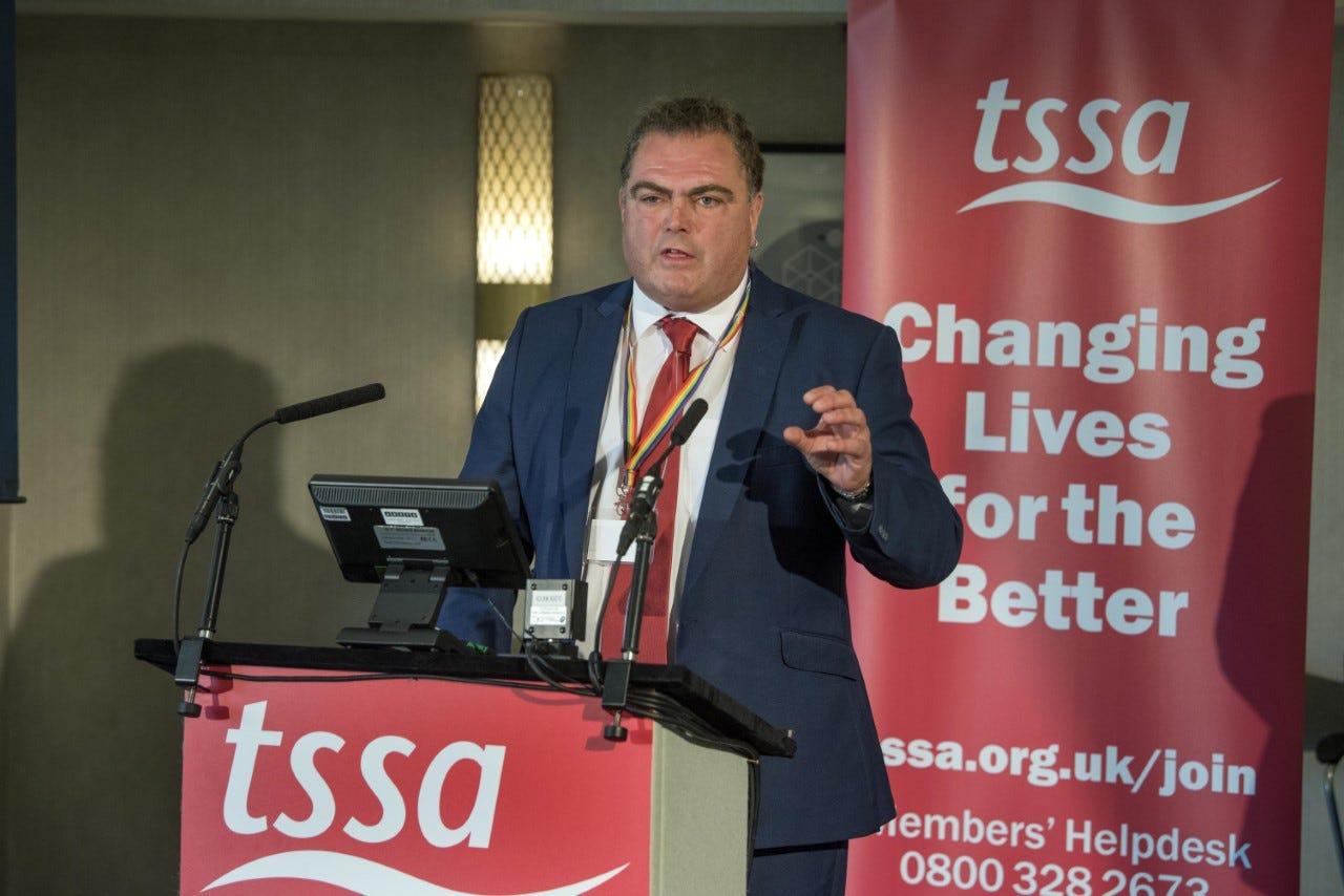 Manuel Cortes TSSA General Secretary