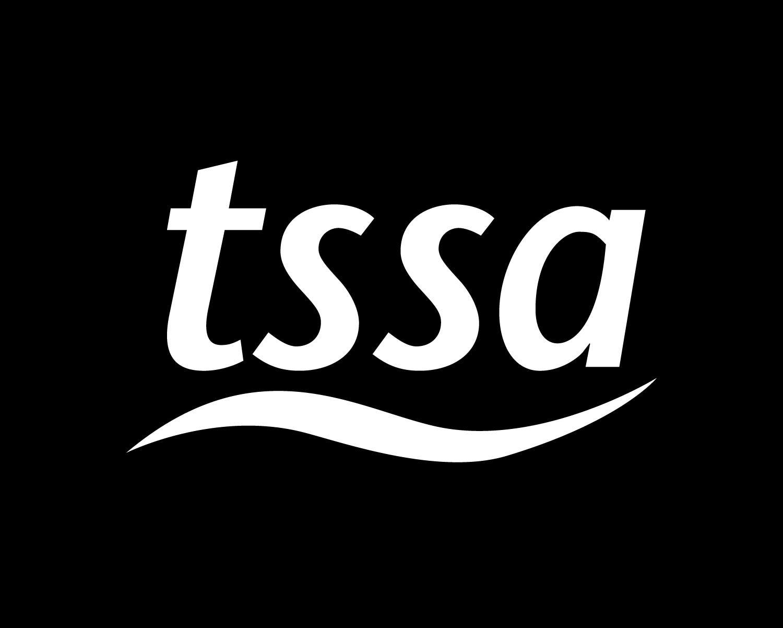 Black & White TSSA Logo