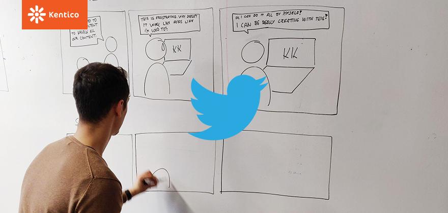 Kentico UX Design komunita – Twitter