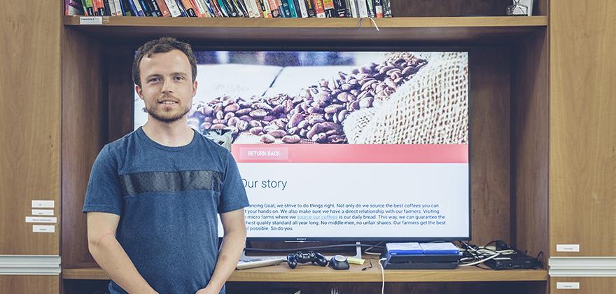Aplikaci pro Android TV postavenou na Kentico Kontent plánuje Juraj rozvíjet i do budoucna.