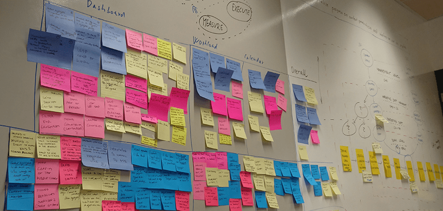 Design sprint - post-it