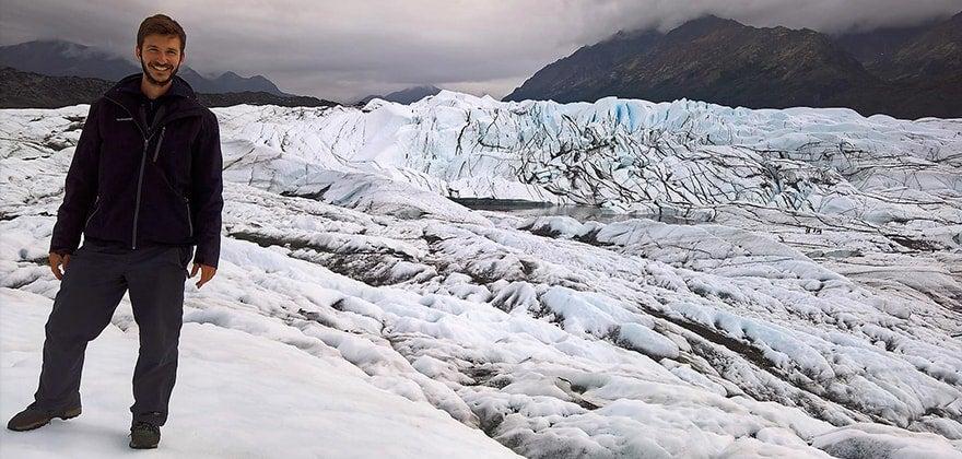 Aljaška - ledové pole