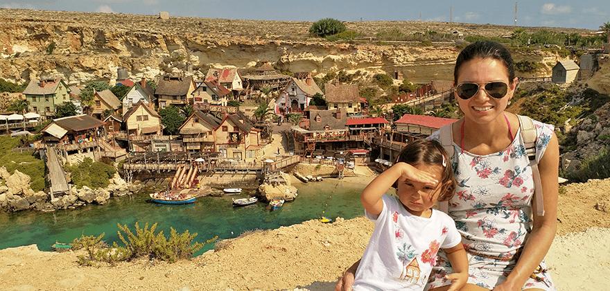 Neplacené volno Michala Ingra – Vesnice Pepka námořníka, Malta