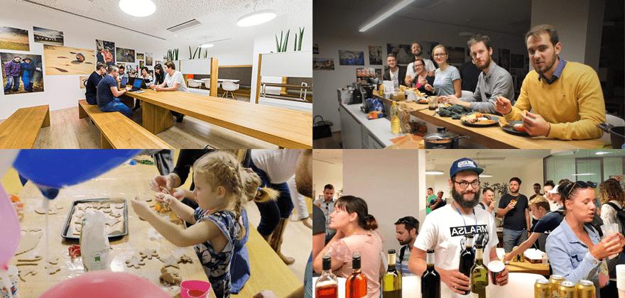 Kentico Brno office - kuchyně