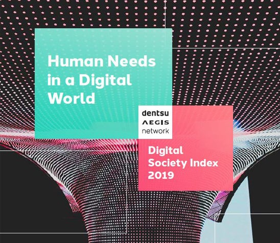 Digital Society Index raportin etusivu