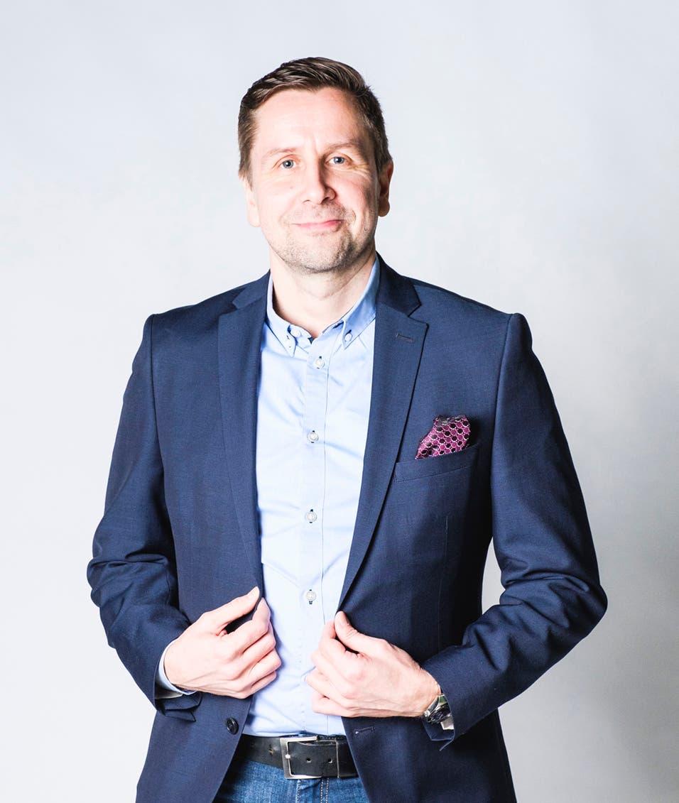 Tuomas Kurki, COO, Dentsu Aegis Network
