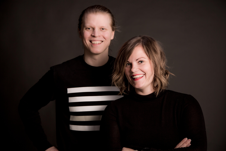 Jussi Hakanen ja Sari Koskenkorva