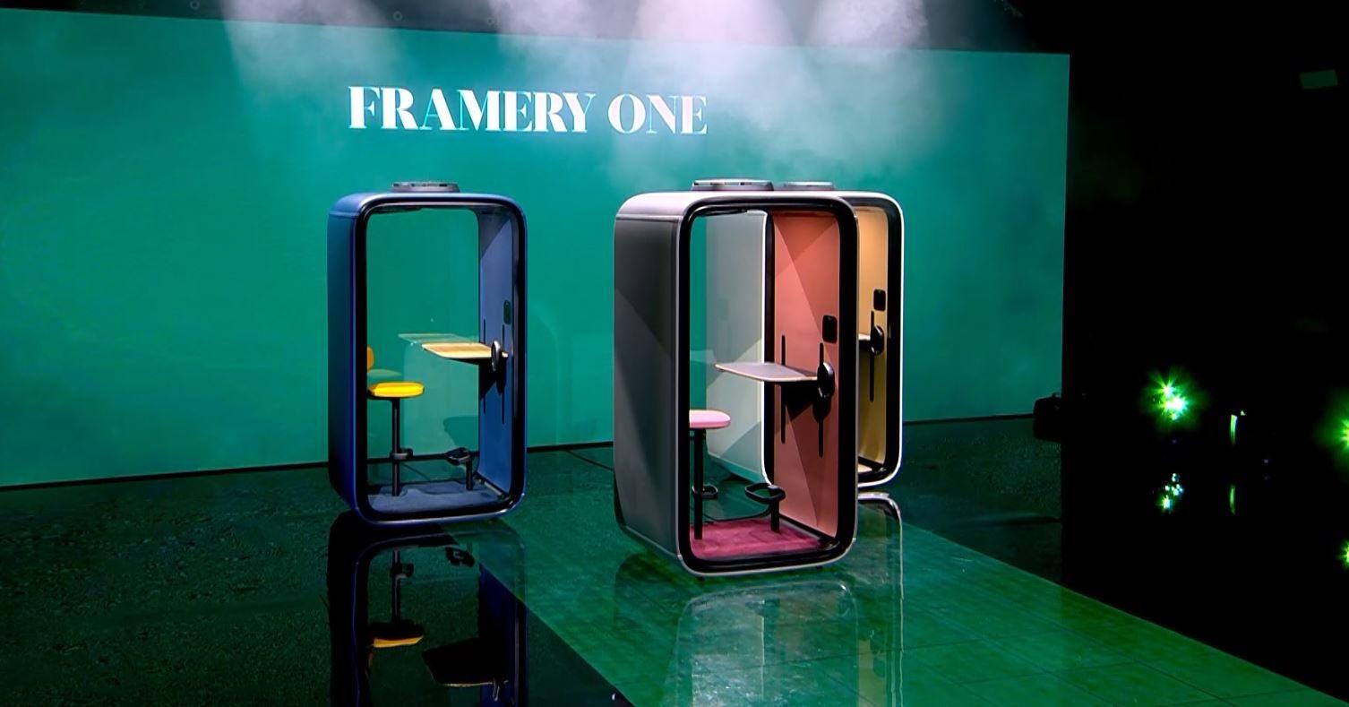 Framery One tuotelanseeraus