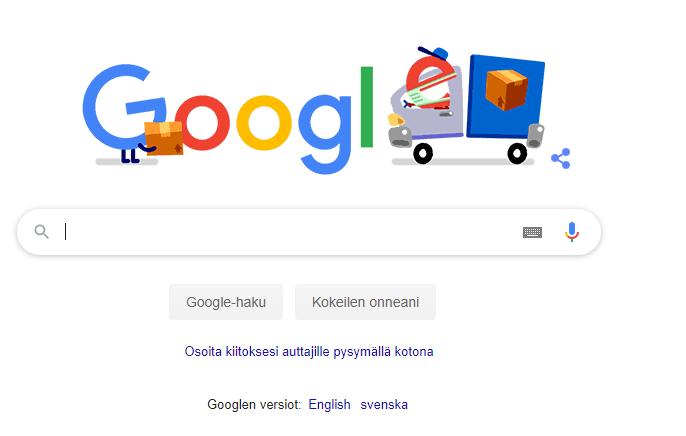 Googlen selain
