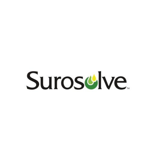 Surosolve logo on white.