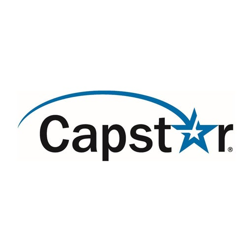 Capstar logo on white
