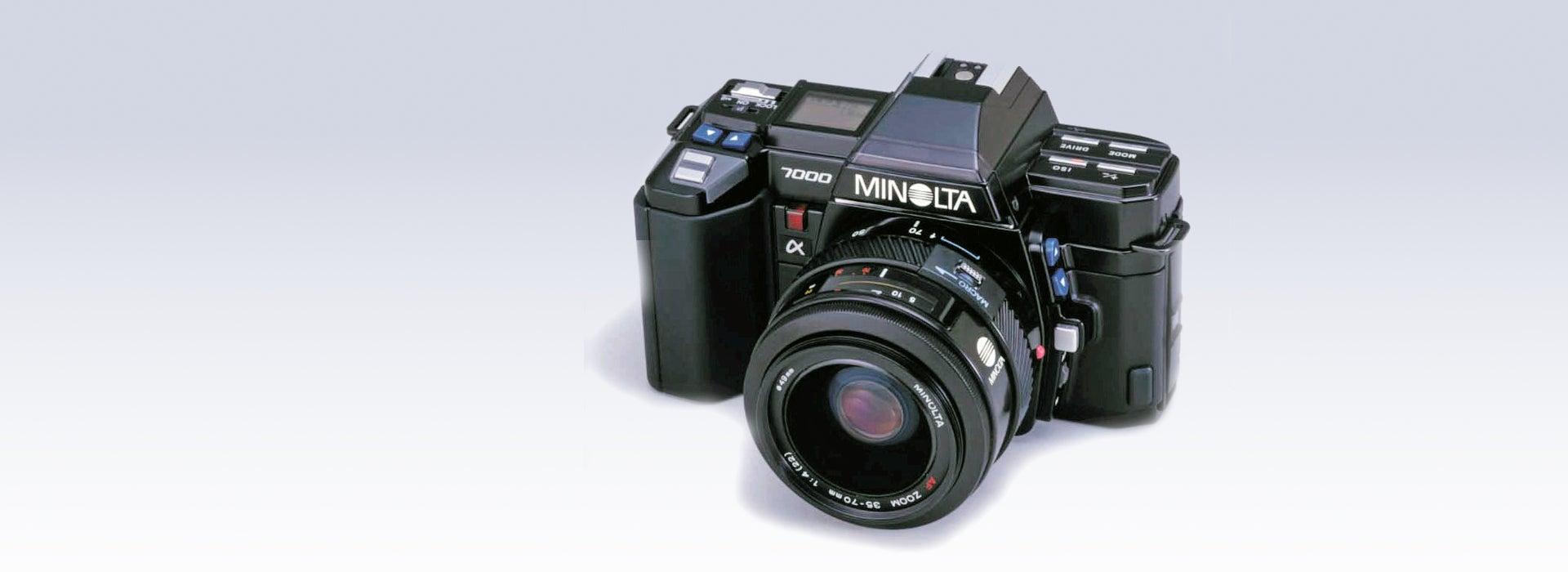 """La Minolta 7000 registrada como """"Material Histórico Esencial para la Ciencia y la Tecnología"""" por el Museo Nacional de Naturaleza y Ciencia"""