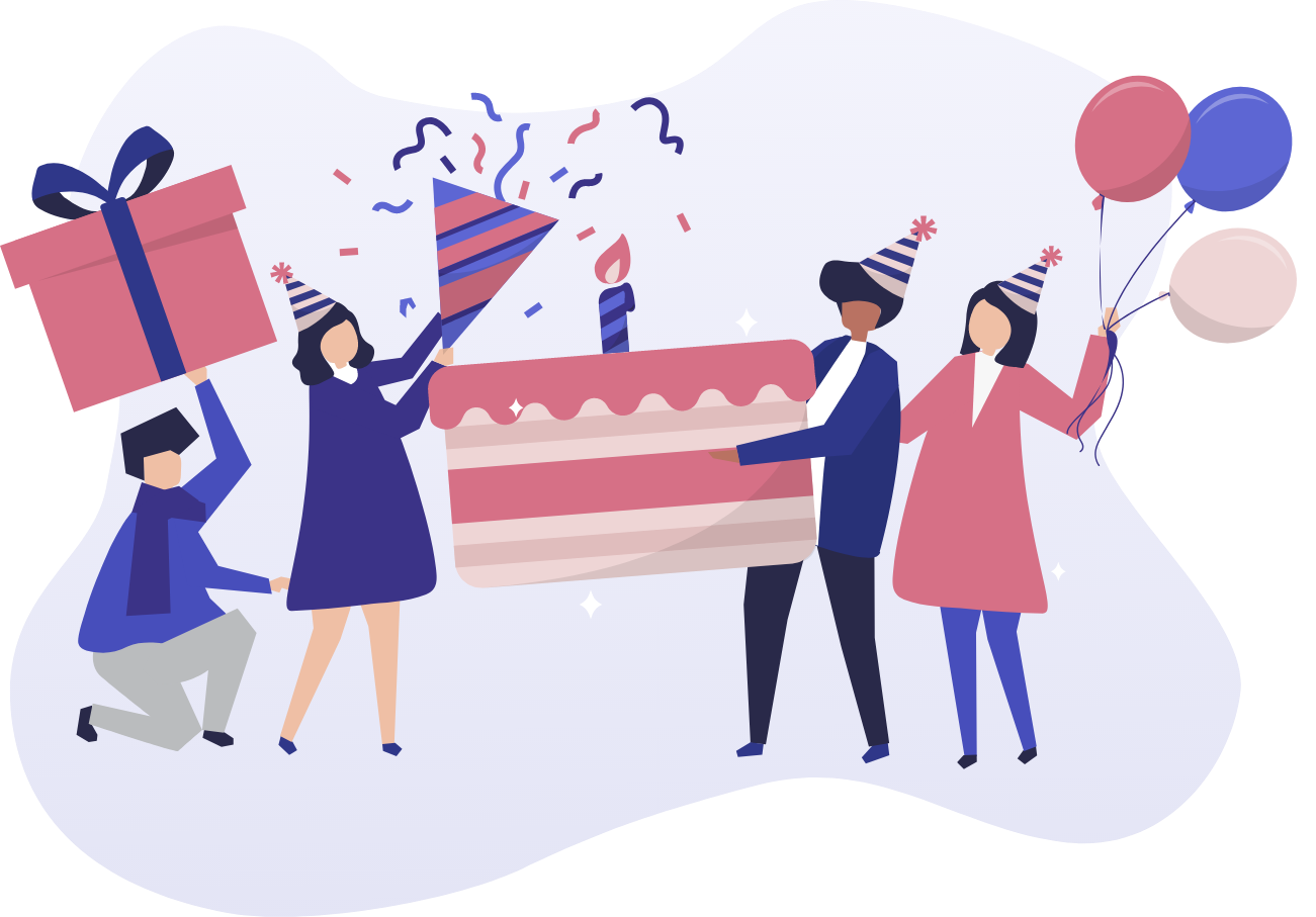 Geburtstage und Familienfeier