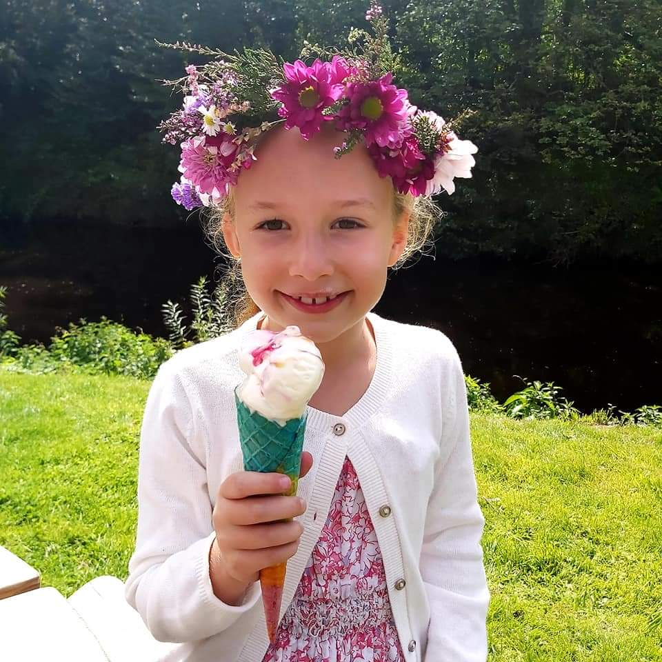 Evie, 8, is urgently searching for a lifesaving blood stem cell donor