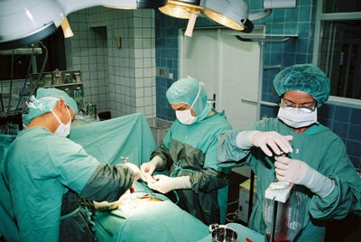 Knochenmarkentnahme