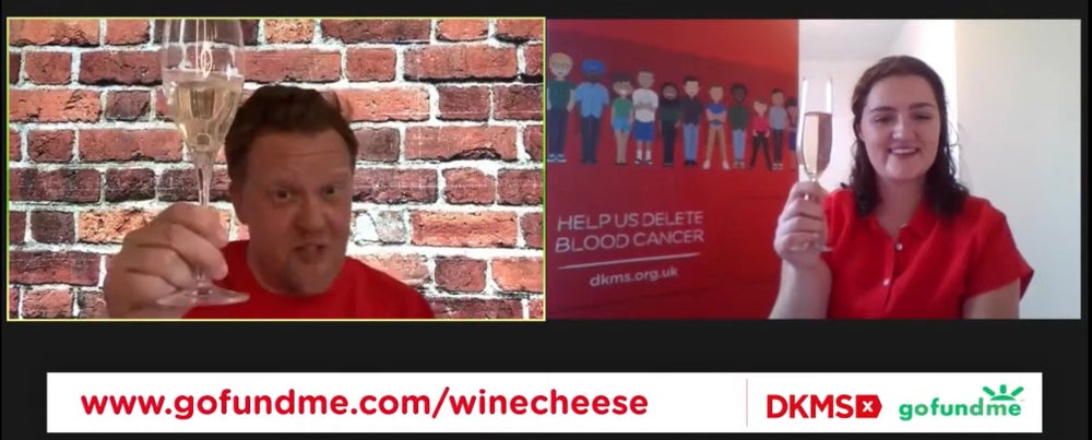 Wine & Cheese with DKMS - hosted by Olly Smith