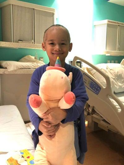 Lillian in hospital