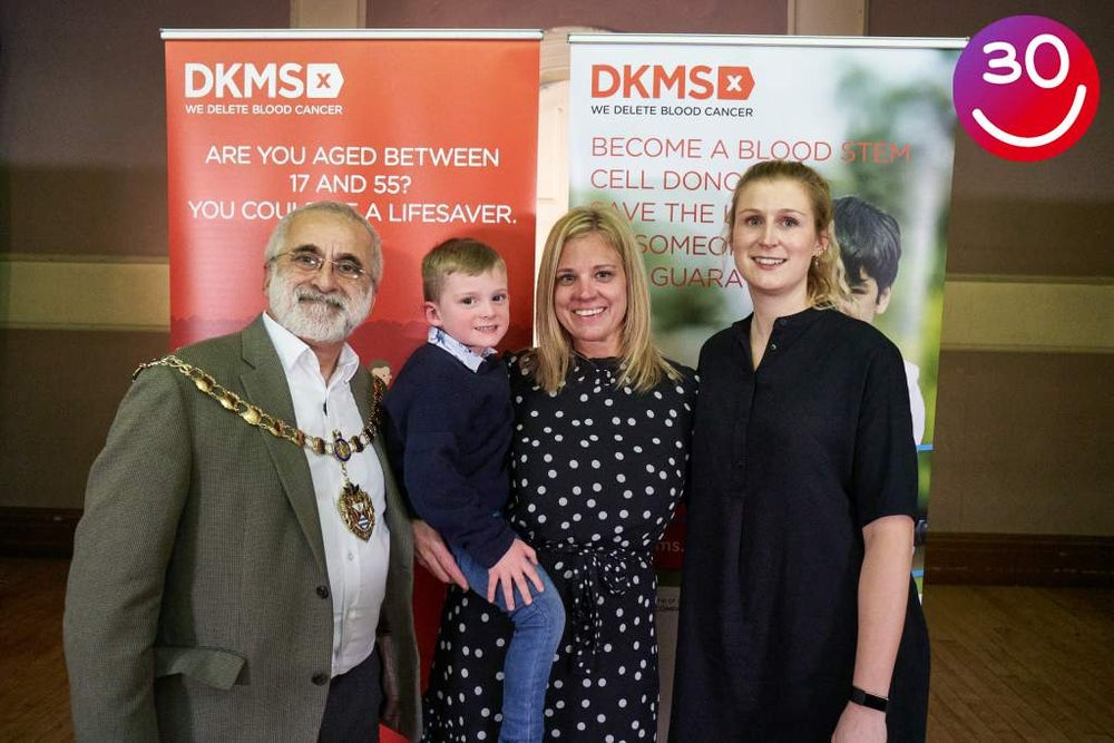 Mayor of Hounslow, Alfie Commons, Lorna Commons and Christin Bouvier