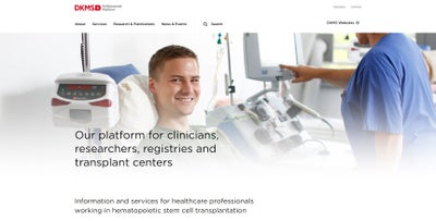 DKMS Professionals Platform