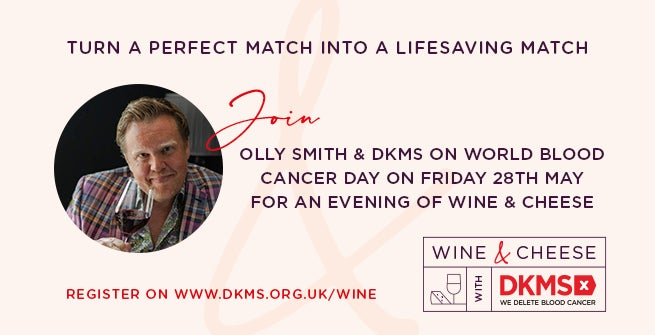 Wine & Cheese with DKMS