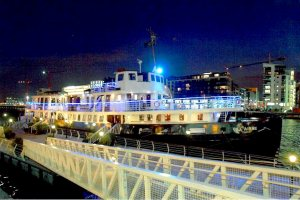MV Cill Airne, Dublin's Floating Restaurant & Bar on the River Liffey
