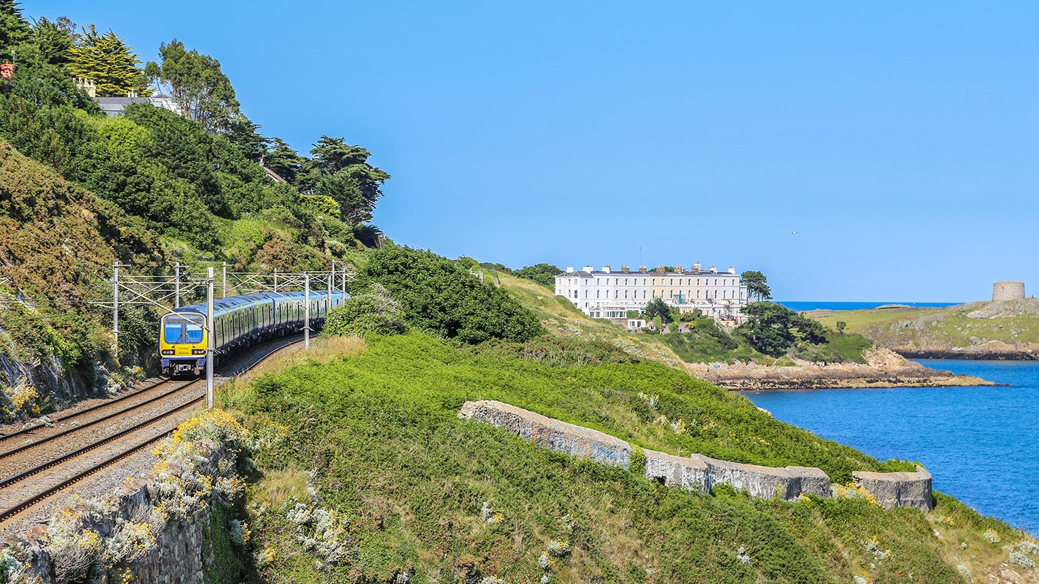 Catch the Dart to Killiney to visit the Druid's Judgement Seat.