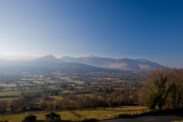 Image of the Glen of Aherlow in County Tipperary