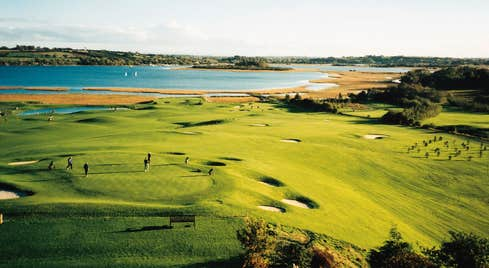 Views overlooking Glasson Golf Club, Glasson, County Westmeath