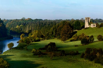 Image of Dunmoe Castle in County Meath