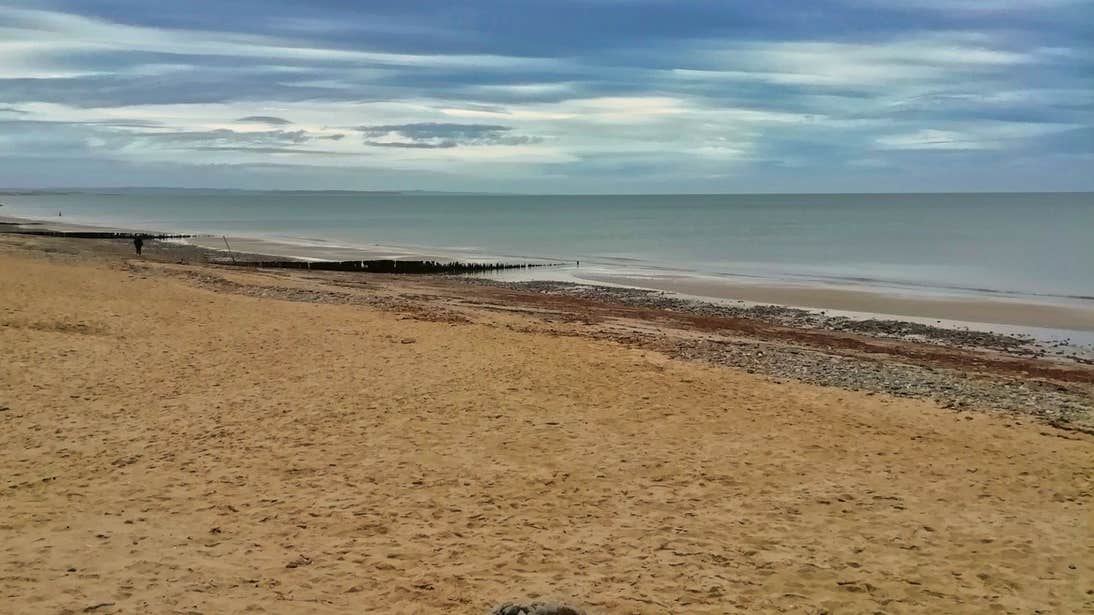 Wide open beach at Rosslare Strand, Wexford