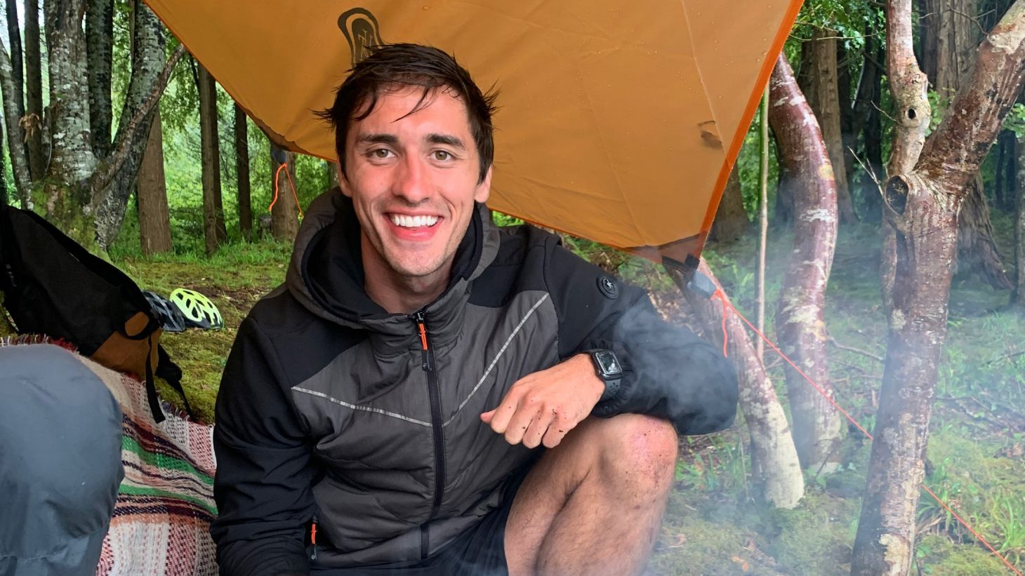 It was all smiles during Greg's outdoor activities with NW Adventures.