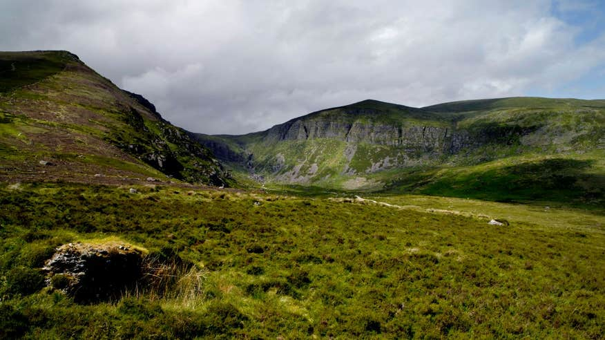 Incredible views of Comeragh Mountains.