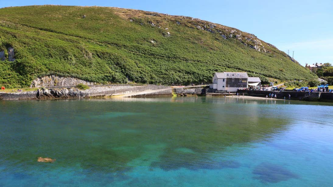 Clear blue water on Cape Clear Island, Cork