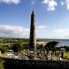 Image of The Round Tower in Ardmore in County Waterford