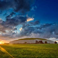 Image of the sunrise in Donore in County Meath