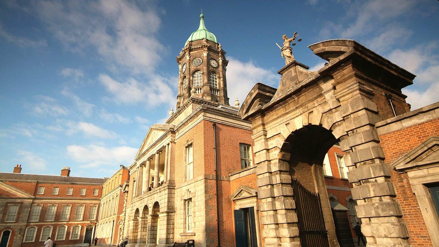 Dublin Castle, in the historic heart of Dublin.