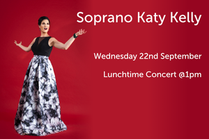 Soprano Katy Kelly LIVE at the Irish Institute of Music and Song