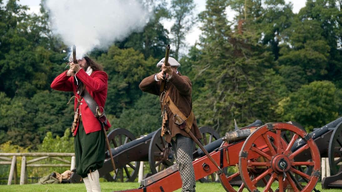 Reenactment of the Battle of the Boyne, Boyne Valley, Co. Meath