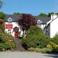 Adrigole Arts shop, gallery and café farmhouse exterior