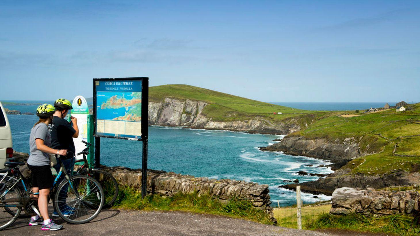 Explore the beautiful Slea Head by car or bike.
