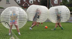 Bubble Soccer Girls