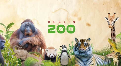 Image of animals that are in Dublin Zoo in County Dublin