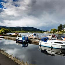 Image of cruisers in Killaloe in County Clare