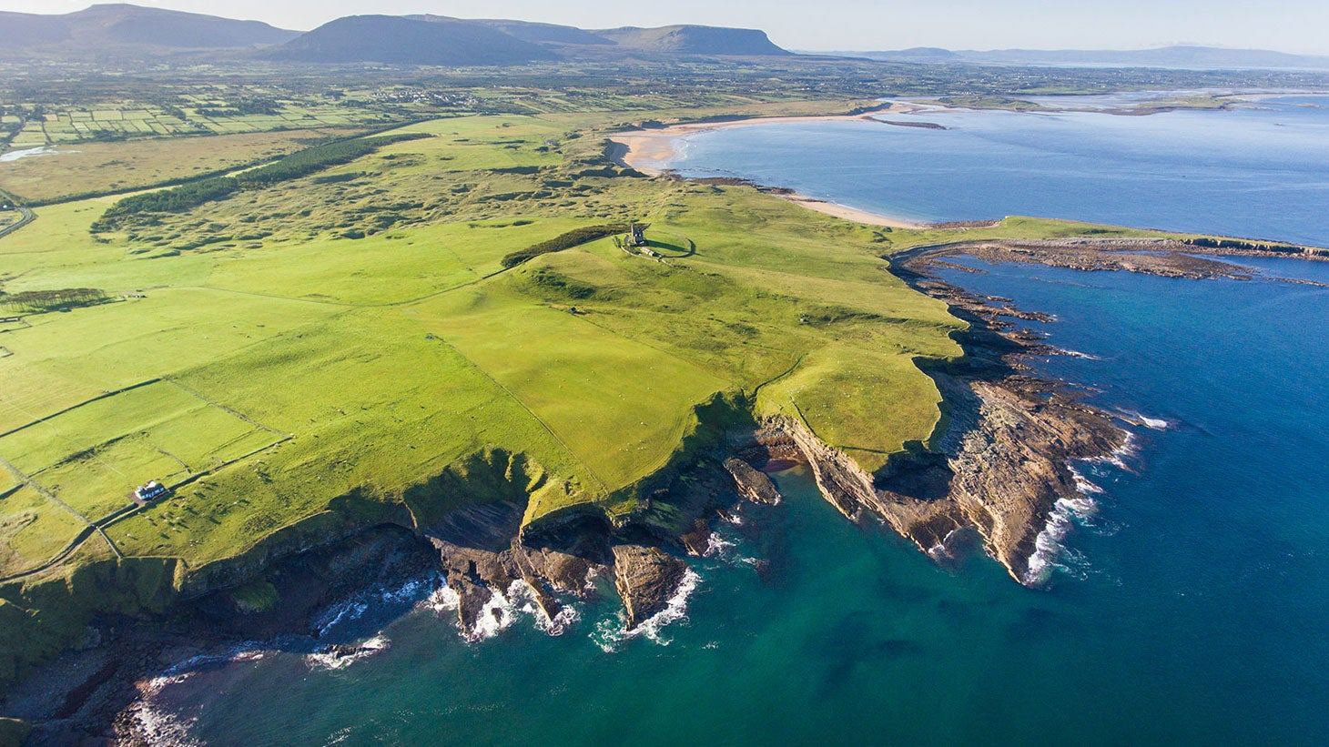 See the power of the Atlantic Ocean at Mullaghmore.