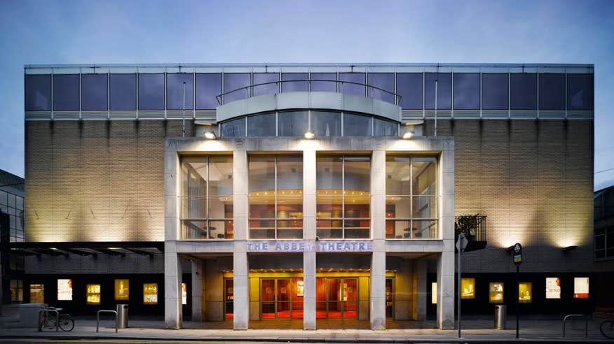 Take in a performance at the Abbey Theatre, Dublin.
