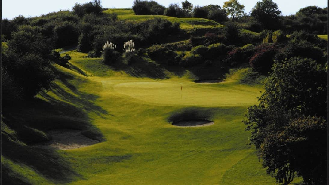Greenway at Esker Hills Golf Club, near Tullamore, County Offaly