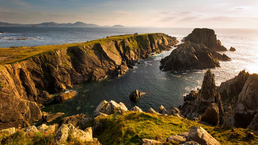Visit Ireland's most northerly point at Malin Head.