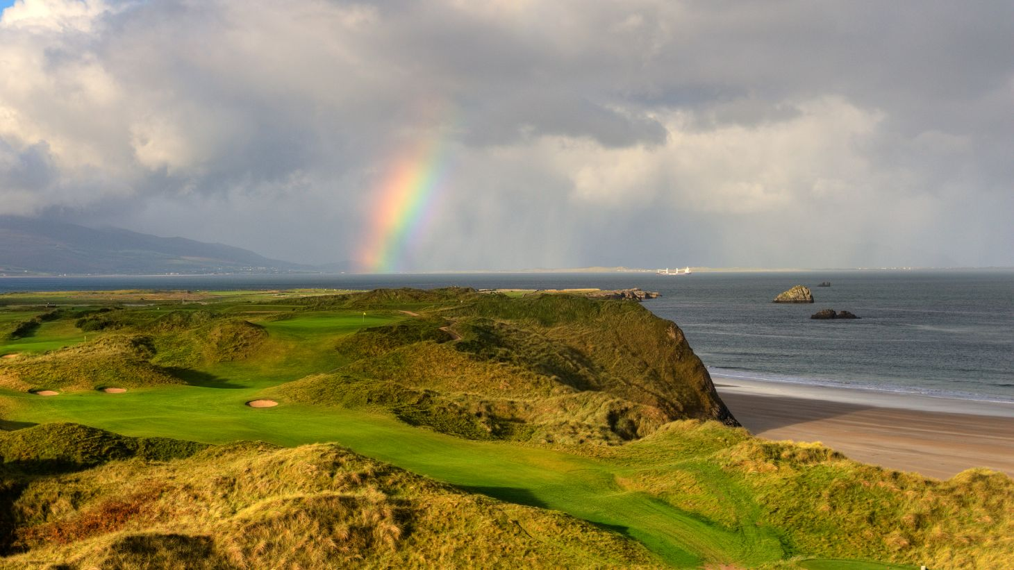 Visit the famous Arnold Palmer golf course atTralee Golf Club.