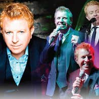 Tommy Fleming singing at the Theatre Royal, Wateford