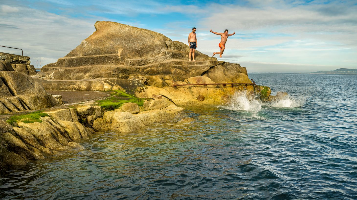 Swim at the famous Forty Foot in Sandycove.